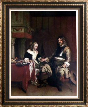 Masterpieces Of Dutch Painting Gerard Terborch: The