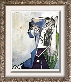Pablo Picasso Sylvette, Xiii C.1954 Fine Art Print