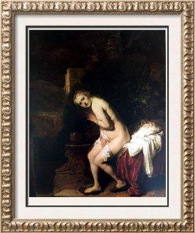 Rembrandt (harmensz Van Rijn) Susanna At The Bath