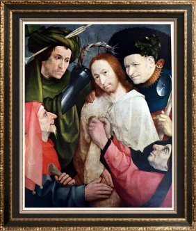 Hieronymus Bosch Christ Crowned With Thorns C.1450-1516
