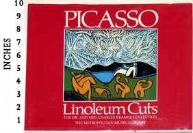 Art Book Liquidation Sale Pablo Picasso Linoleum Cuts