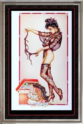 Erotic Olivia Sold Out Rare Ltd Ed Huge Liquidation