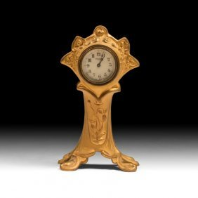 19th Century Art Nouveau Clock