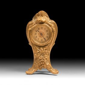Vintage Art Nouveau Mantle Clock