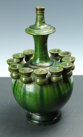 Chinese Green Glaze Vase