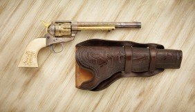 "7 1/2"" Colt With Ivory Grips"