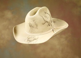 Charlie Russell Riders Pictorial Hat