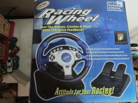 Racing Wheel And Pedals