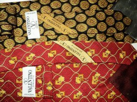 Top Men's Designer Ties 6 All Silk Also Signed