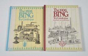2 Nachdrucke Bing Kataloge 1898 + 1906
