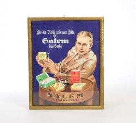 "Plakat ""salem Die Beste"" In Originalrahmen"