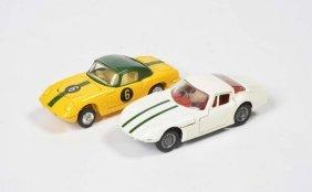 Corgi Toys, Marcos Volvo 1800 + Lotus Elan S 2