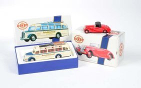 """Matchbox, """"the Dinky Collection"""" Reisebus Ruoff"""