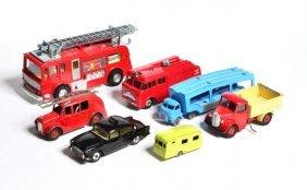 Dinky Toys/matchbox, Lkw, Autoransporter, Feuerwehr,