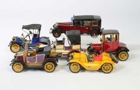 Schuco, 5 Oldtimer + 1 Franklin Mint Mercedes