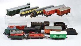 Konvolut Eisenbahn, 12 Wagen