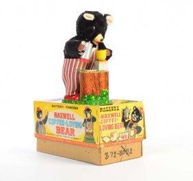 Tn, Maxwell Coffee Loving Bear