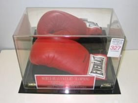 Boxing Autograph Ali Clay Frasier Glove