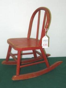 Antique Furniture Childs Rocker