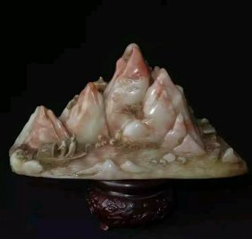 Late 19th Century Chinese Soapstone