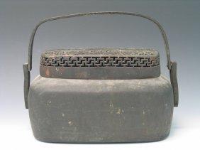 Chinese Metal Hand Warmer.