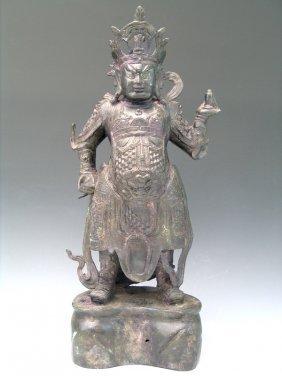 Chinese Bronze Guardian