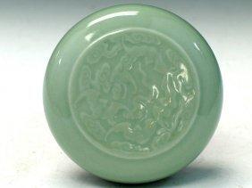 Chinese Celadon Porcelain Box