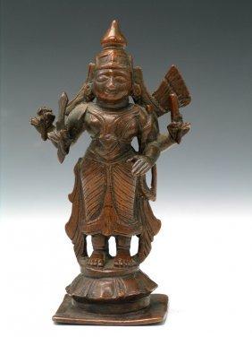 Indian Bronze Buddha