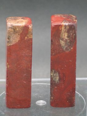 Two Soapstone Seals