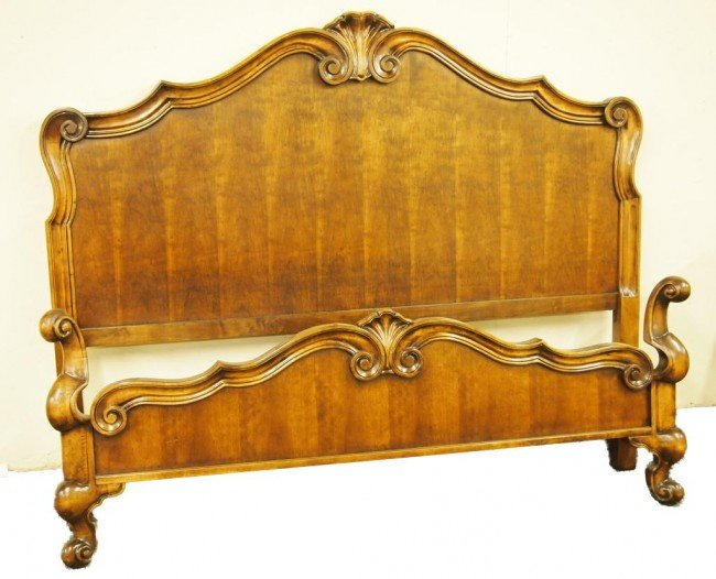 197 king size bed in french country style lot 197 for French country style beds