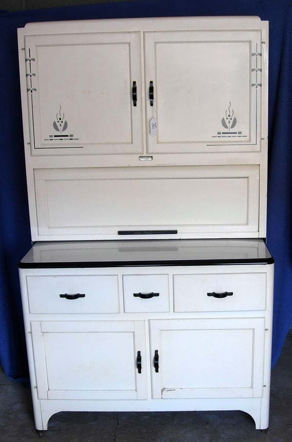 50 1930 39 S ART DECO KITCHEN CABINET BY SELLER 39 S INC Lot 50