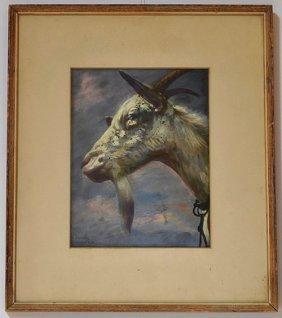 Vintage Jorge Levoyer Painting
