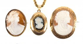 A Selection Of Neoclassical Cameos
