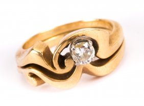 A Lady's Diamond Wedding Set