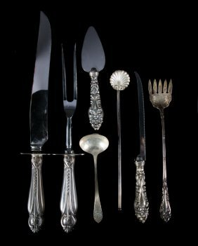 Assortment Of Sterling Silver Flatware