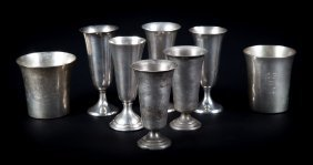 American Sterling Silver Julep Cups & Cordials