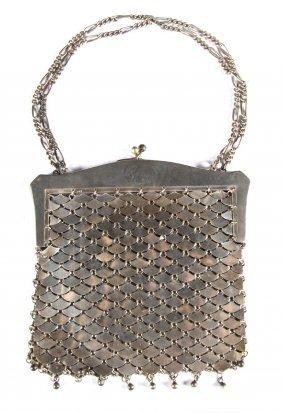 Lady's German Silver Mesh Purse