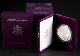 [us] 4 Proof American Silver Eagles