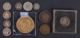 [us] Selection Of 19th-century U.s. Coins
