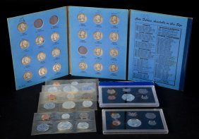 [us] Collection Of Silver Quarters And Proof Sets