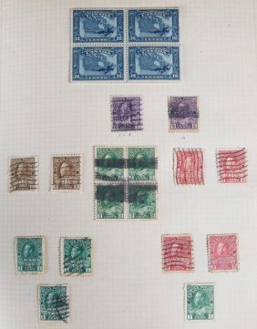 Collection Stamps Of Canada, 1900-1976