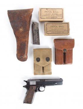 Pistol, Colt .45 Cal. Model 1911