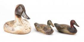 Three Cast Iron Duck Doorstops