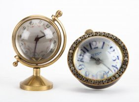 Two Bauble Clocks