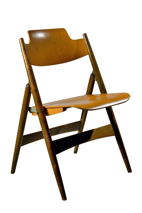 782 stuhl 39 se18 39 eiermann design chair 1950s lot 782. Black Bedroom Furniture Sets. Home Design Ideas