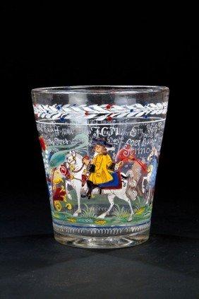 A Beaker Of The Horse Dealer J.C.M. Franconia, Prob
