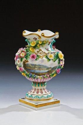 Vase Mit Ansicht Von Schlo� Pillnitz