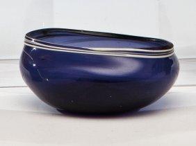 Seltenes Maigelein Aus Blauem Glas