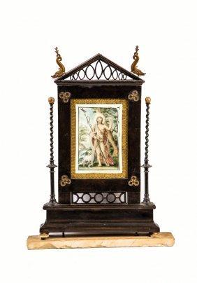 Lichtschirm Mit Johannes Dem Täufer