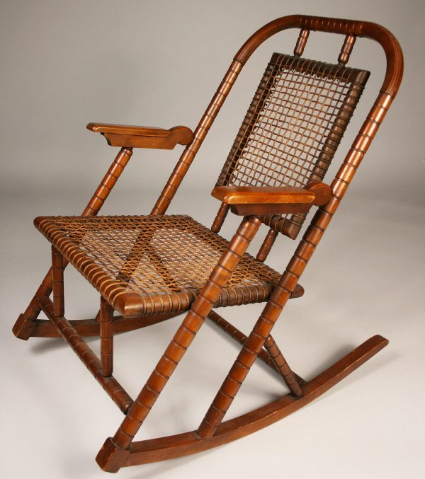 Red Rocking Chair Band ~ Signed hunzinger rocking chair lot